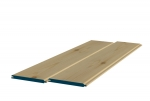 8 x 89mm Pre-Varnished Redwood TGV Sheeting (10x0.9m)