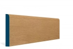 19 x 144mm Pre-Varnished Solid White Oak Bullnose Skirting (5x2.4m)