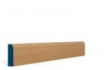 19 x 69mm Pre-Varnished Solid White Oak Bullnose Architrave or Skirting (5x2.13m)