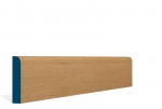 19 x 94mm Pre-Varnished Solid White Oak Bullnose Architrave or Skirting (5x2.4m)