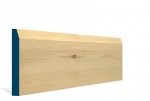 19 x 144mm Pre-Varnished Redwood Pine Chamfered Skirting (5x2.4m)