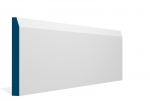 19 x 169mm PRE-PAINTED Wood Chamfered Skirting - WHITE (5x2.4m)