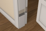 Pre-Primed / Pre-Painted Wood 30 Minute Fire REBATED Door Frame
