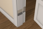 Pre-Primed / Pre-Painted Wood 60 Minute Fire REBATED Door Frame