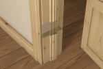 Pre-Varnished Redwood Door LINER (inc Ogee Door Stop)