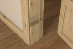 Pre-Varnished Redwood REBATED Door Frame