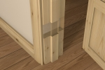 Pre-Varnished Redwood Door LINER (inc Square Door Stop)