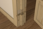 Pre-Varnished Redwood Internal 30 Minute Fire Door LINER (inc Square Door Stop)