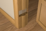Pre-Varnished Solid White Oak Door LINER (inc Ogee Door Stop)