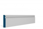 19 x 94mm Pre-Primed / Pre-Painted Wood Double Step Architrave or Skirting (5x2.25m)