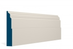 30 x 169mm Pre-Painted Wood Dromoland Skirting - Ivory (5x2.4m)