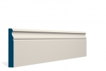 19 x 119mm PRE-PAINTED Wood Ogee Skirting - IVORY (5x2.4m)