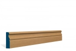 19 x 69mm Pre-Varnished Solid White Oak Ogee Architrave or Skirting (5x2.13m)