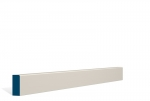 19 x 44mm Pre-Painted Wood Pencil Edge Architrave/Skirting - Ivory