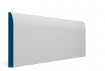 19 x 169mm Pre-Primed / Pre-Painted Wood Rounded Skirting (5x2.4m)