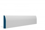 19 x 94mm Pre-Primed / Pre-Painted Wood Rounded Architrave or Skirting (5x2.25m)