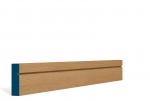 19 x 69mm Pre-Varnished Solid White Oak Shaker Architrave or Skirting (5x2.13m)