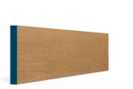 19 x 144mm Pre-Varnished Solid White Oak Square Edge Skirting (5x2.4m)