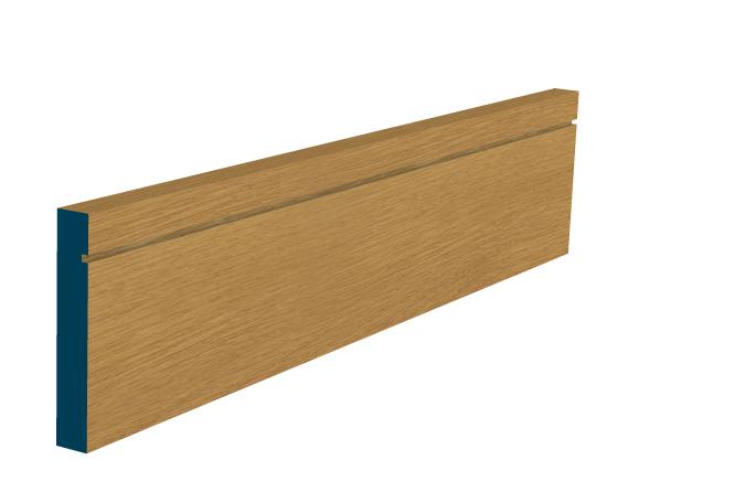 Pre Varnished Oak Shaker Skirting Boards Uk Diy Timber Packs